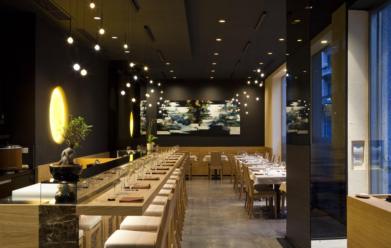 Quale illuminazione scegliere per un ristorante for Illuminazione interni casa