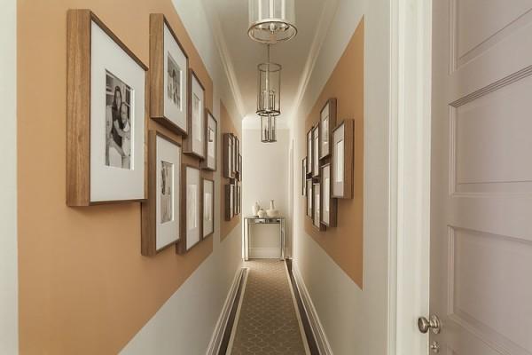 come illuminare un corridoio stretto   illuminazione interni