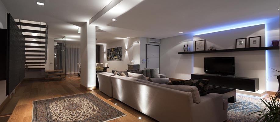 Consigli per illuminare stanza per stanza illuminazione - Esempi di illuminazione a led per interni ...