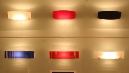 Illuminazione colorata per interni